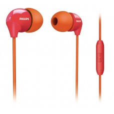 Fone de Ouvido Philips Intra Auricular Laranja/Pink - SHE3575OP/10