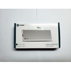 CASE EXTERNO PARA SSD 2.5″ CONEXÃO USB 3.0 PARA SATA – USB TIPO C PARA USB – CS25-C30
