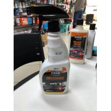 limpa estofados spray 500ml remove sujeiras e manchas