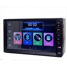 Central Multimídia Tay Tech Mp8 Com Bluetooth/usb/sd Card/