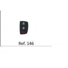 Borracha Chave Hb20 3 Botões ref 146