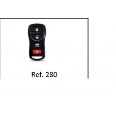 Capa Alarme Nissan 4 Botões ref 280