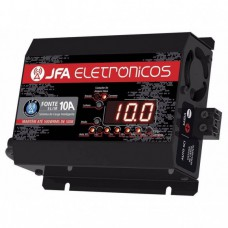 Fonte Automotiva Jfa 10a Com Display Sci Carregador Bateria
