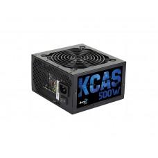 Fonte Aerocool KCAS 500W, 80 Plus Bronze, PFC Ativo