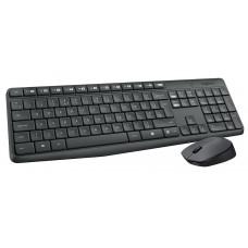 Kit Wireless (teclado/mouse) Mk235 Logitech