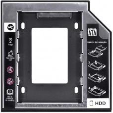 Adaptador Caddy para HD ou SSD 12.7mm interface universal Sata Vinik