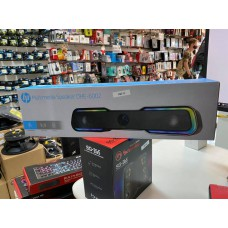 Caixa de Som Gamer HP DHE-6002, 6 watts rms, touch control, luzes led rainbow