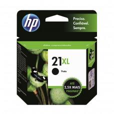 Cartucho de Tinta HP 21XL Preto