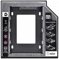 Adaptador Caddy para HD ou SSD 9.5mm interface universal Sata Vinik AC-95
