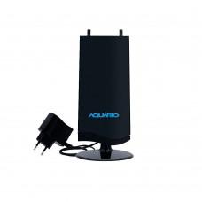 Antena Interna Amplificada Aquário DTV-4600 VHF, UHF FM & HDTV