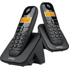 Telefone sem Fio Intelbras TS3112 Preto 2 em 1