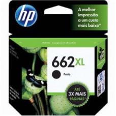 Cartucho de Tinta HP 662 XL Preto