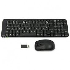Combo Mouse e Teclado Wireless Logitech MK220