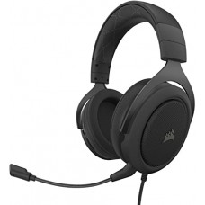 HEADSET GAMER CORSAIR HS60 PRO SURROUND 7.1 CARBON DRIVERS 50MM, CA-9011213-NA