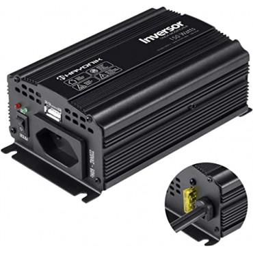 Inversor de Onda Modificada 150W 12VDC/220V USB Hayonik