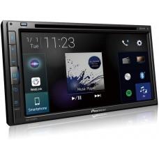 """Central Multimídia Pioneer 2 Din AVH-Z5280TV 6.8"""" TV Bluetooth Espelhamento Android Iphone DVD MP3"""