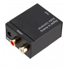 Adaptador Conversor Audio Optico X Rca Analogico- Disponivel