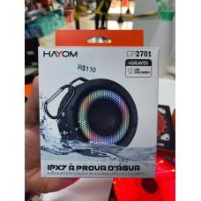 Caixa de Som Hayon Bluetooth IPX7 à prova d`água