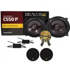 Kit duas vias Bravox CS50p