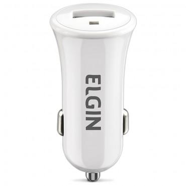 Carregador USB Veicular ELGIN