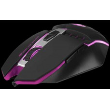 Marvo Scorpion M112 USB 7 cores LED preto Gaming Mouse programável