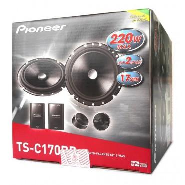 Kit 2 Vias Pioneer Ts-c170br Alto Falante 6 220w