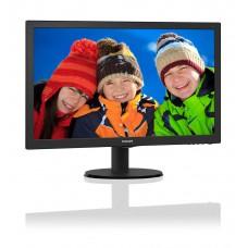 "Monitor LED 21.5"" Philips 223V5LHSB2 Wide VGA/HDMI Full HD"