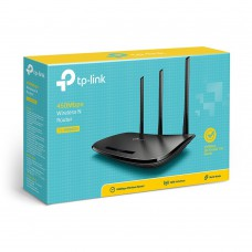 Roteador Tp Link Tl -wr940n 450mbps 3 Antenas 5dbi
