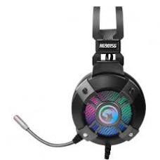 HEADSET GAMER USB MARVO SCORPION HG9915G 50MM DRIVERS, RAINBOW LUZES, CONECTOR USB, SIM VIRTUAL 7.1 SURROUND, CONFORTÁVEL