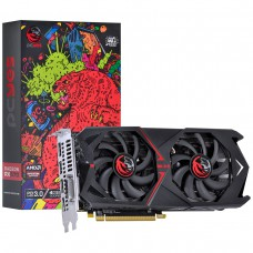 Placa de Vídeo PCyes Radeon RX 570 Dual Graffiti Series, 4GB GDDR5, 256Bit