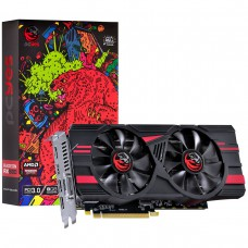 Placa de Vídeo PCyes Radeon RX 580 Dual Graffiti Series, 8GB GDDR5, 256Bi