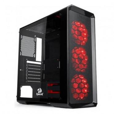Gabinete Gamer Redragon Grimlock - com Coolers RGB - Laterais em Vidro Temperado