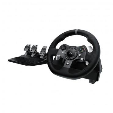 Volante Logitech G920 Driving Force para Xbox One e PC - 941-000122