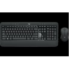 Kit Teclado e Mouse Sem Fio Logitec K540 ADVANCED