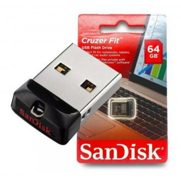Pendrive 64 GB Cruzer Fit SanDisk